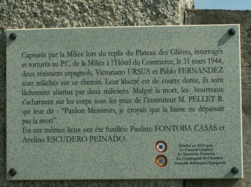 Monument des GLIERES Pict0630