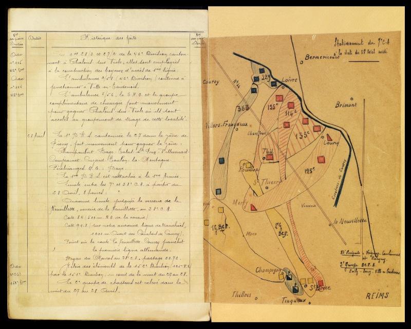 BCP 15_1914-1917_Historique Shdgr_15