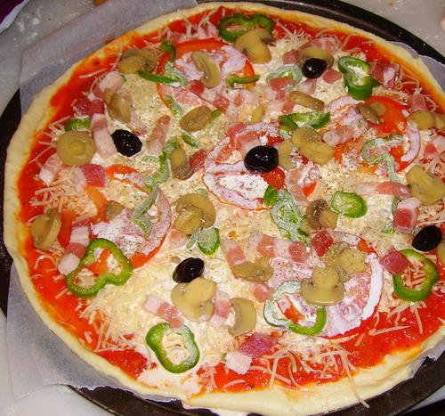 Pizza et fougasses etc... - Page 2 Pizza_11