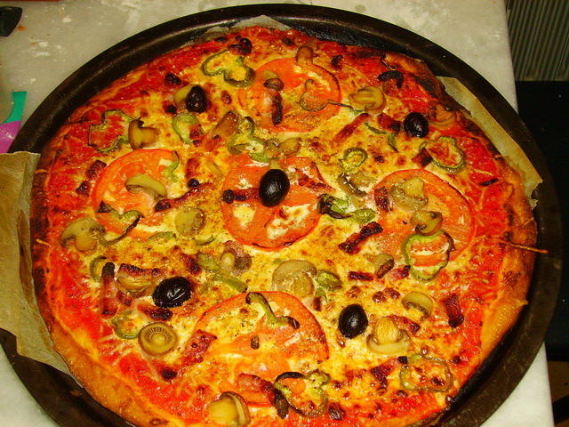 Pizza et fougasses etc... - Page 2 Pizza_12