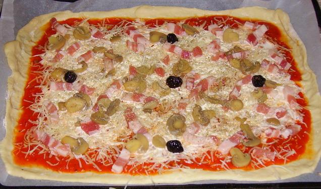 Pizza et fougasses etc... - Page 2 Pizza_13