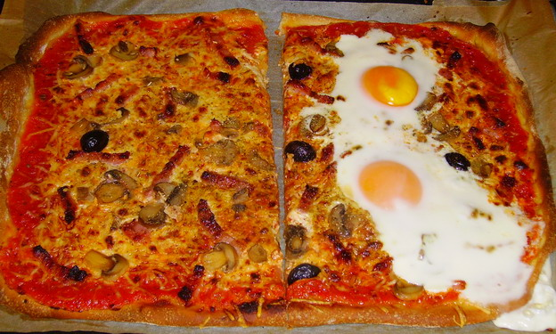 Pizza et fougasses etc... - Page 2 Pizza_14