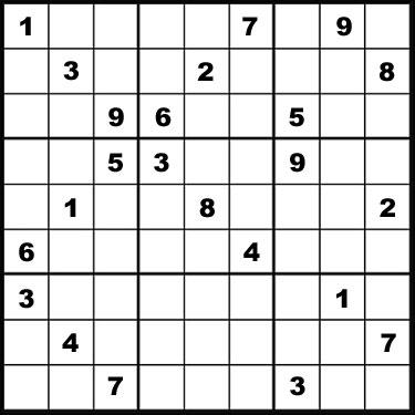 El sudoku más difícil del mundo Sudoku10