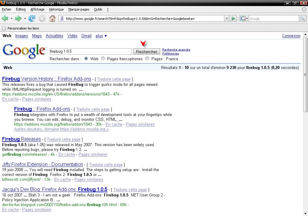 Télécharger Mozilla Firefox 3.0.1 111