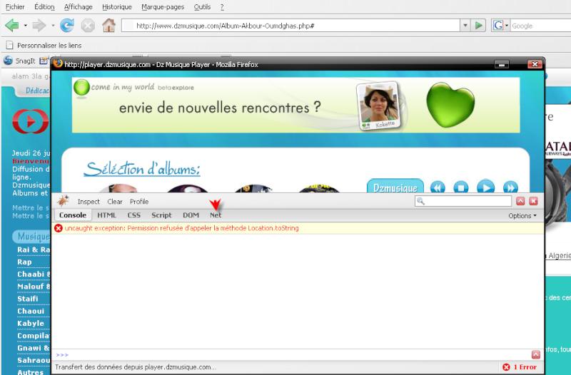 Télécharger Mozilla Firefox 3.0.1 1311