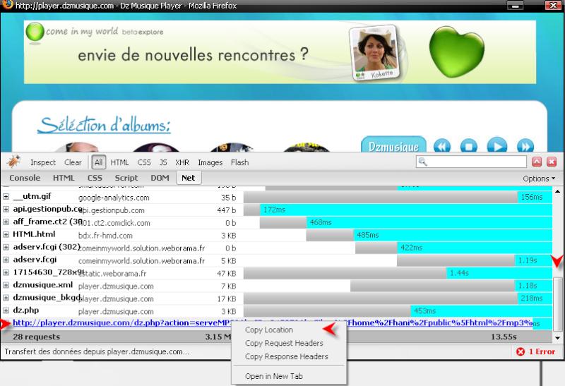 Télécharger Mozilla Firefox 3.0.1 1511