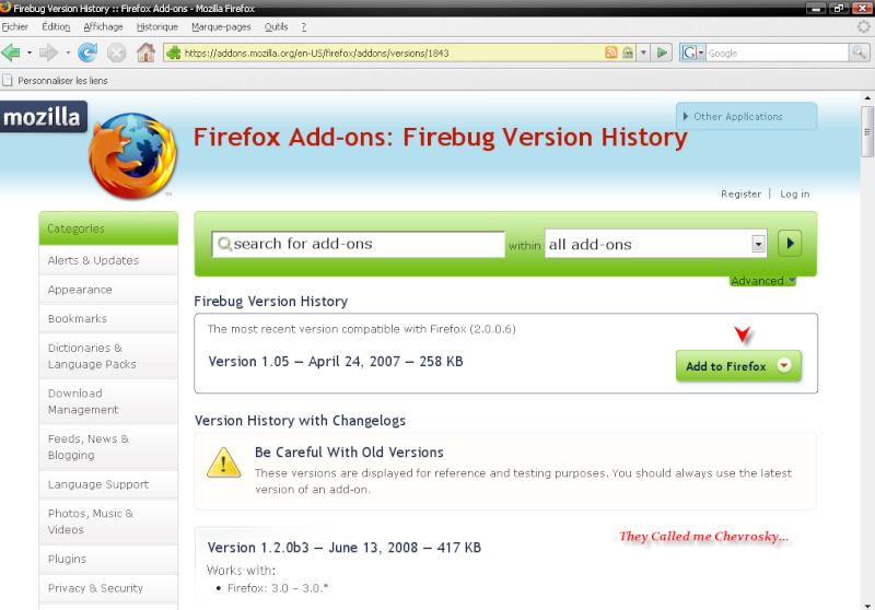 Télécharger Mozilla Firefox 3.0.1 211