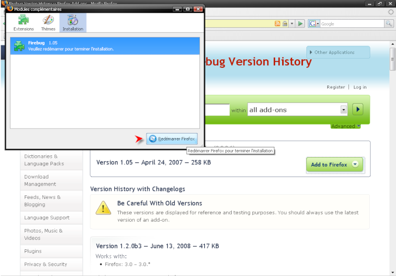Télécharger Mozilla Firefox 3.0.1 511