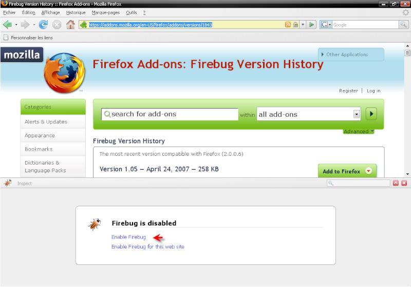Télécharger Mozilla Firefox 3.0.1 711