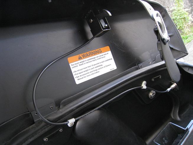 Système Fermeture à clef de sacoches discret pour RK Verrou13