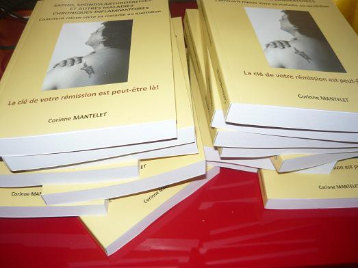 Un livre précieux pour tous les malades de SAPHO , spondylarthropathies et maladies chroniques inflammatoires ! Photo336