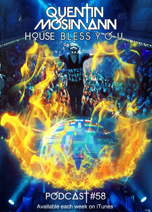 """Podcast """"House Bless You"""" #58 Affich19"""