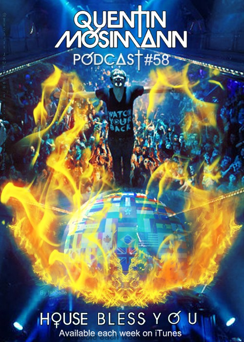 """Podcast """"House Bless You"""" #58 Affich23"""