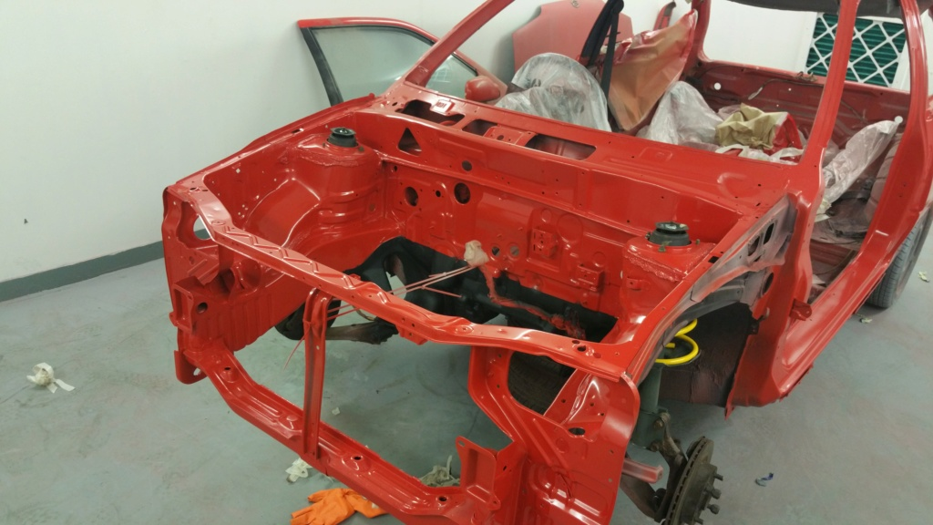 My redGTi restoration  20160812