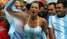 Supportrices / Girls Arg10