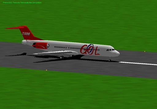 (aviao)fokker 100 tam 40911