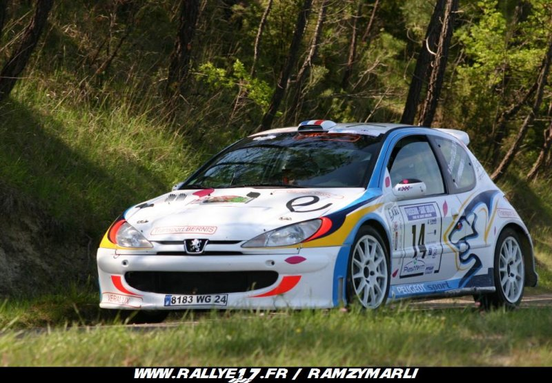 Bertrand GUILLON - PEUGEOT 206 Super 1600 - A6 Edp_gu12