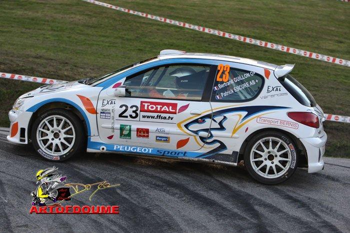 Bertrand GUILLON - PEUGEOT 206 Super 1600 - A6 Edp_gu14