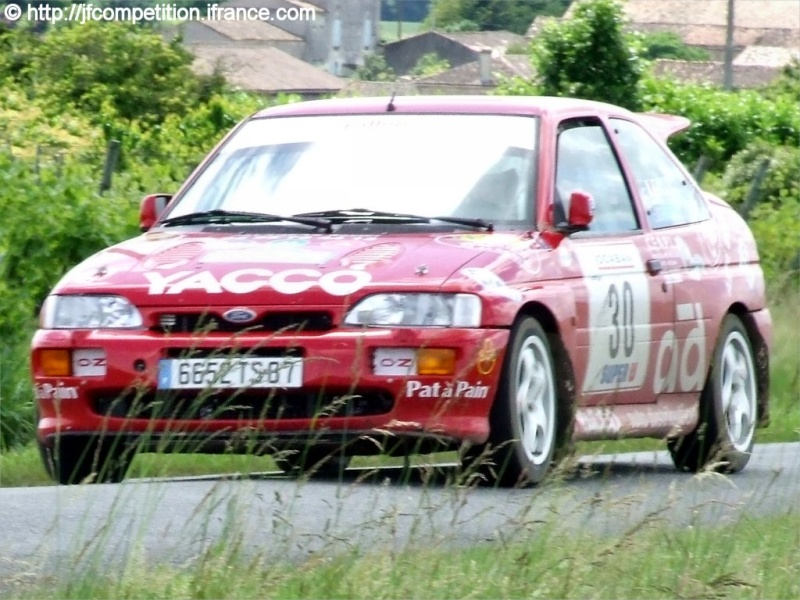 Pierre Alexandre GAUVIN / Jean Michel GAUVIN - FORD Escort Cosworth FN4 Jfc-gu18