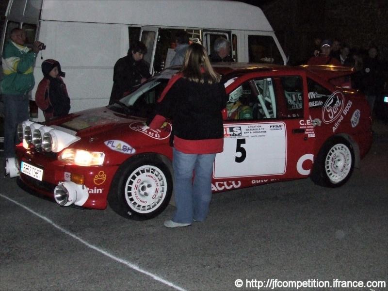 Pierre Alexandre GAUVIN / Jean Michel GAUVIN - FORD Escort Cosworth FN4 Jfc-po30