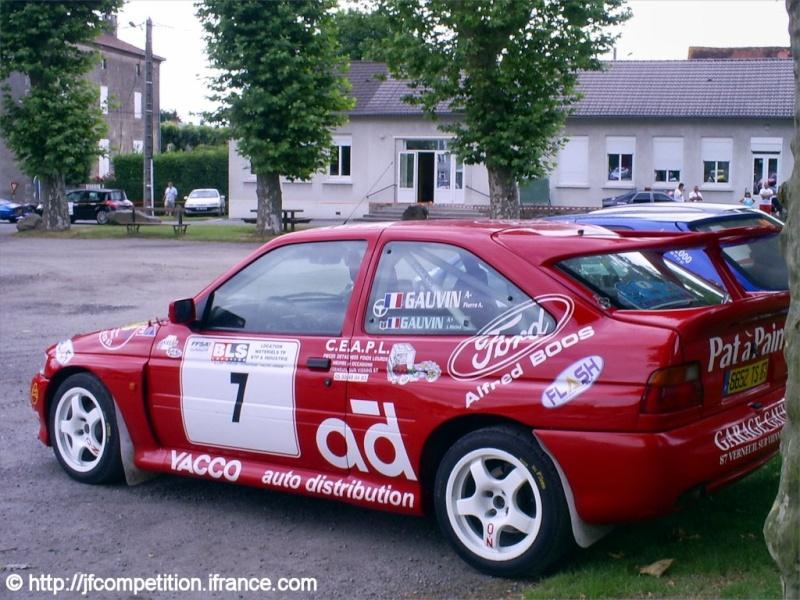 Pierre Alexandre GAUVIN / Jean Michel GAUVIN - FORD Escort Cosworth FN4 Jfc-st20