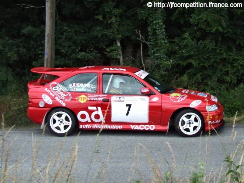 Pierre Alexandre GAUVIN / Jean Michel GAUVIN - FORD Escort Cosworth FN4 Jfc-st22
