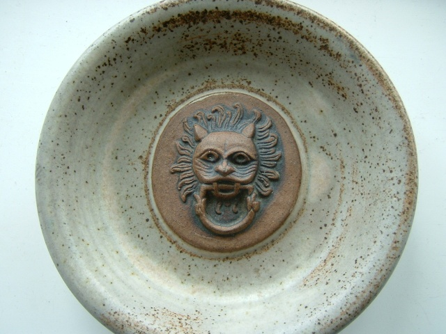 small face dish - Fangfoss pottery 02710