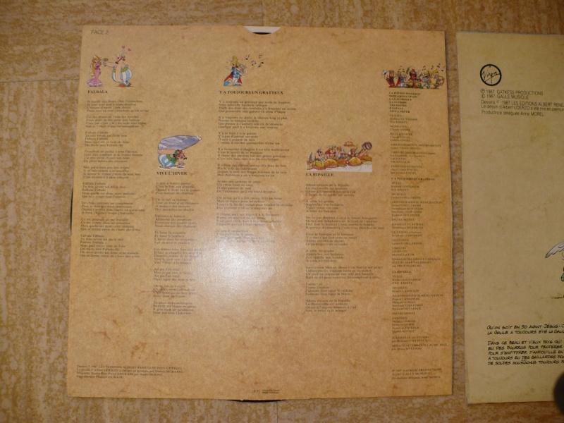 disques asterix 33 et 45 Tours 00568