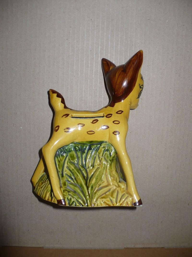 tirelire à casser Bambi 00847