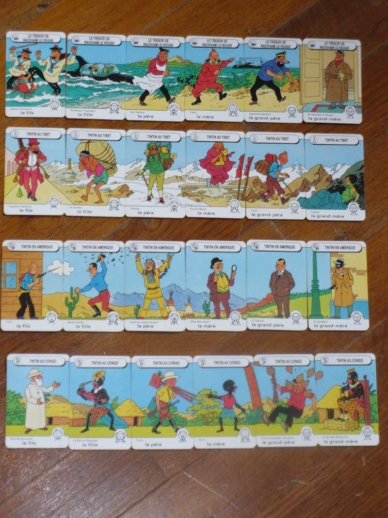 jeu de 7 familles tintin 01619
