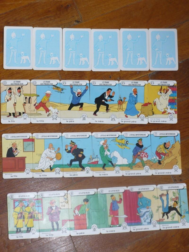 jeu de 7 familles tintin 01719