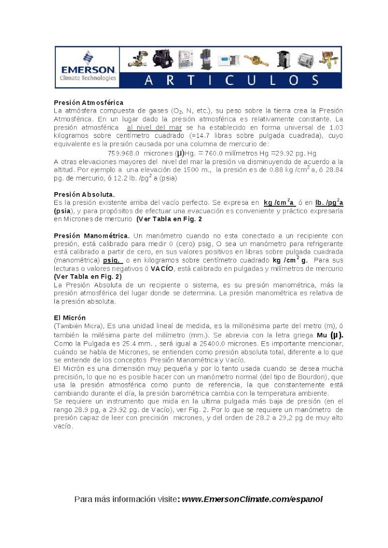 vacio en sistemas de refrigeracion y A/A Pag_515