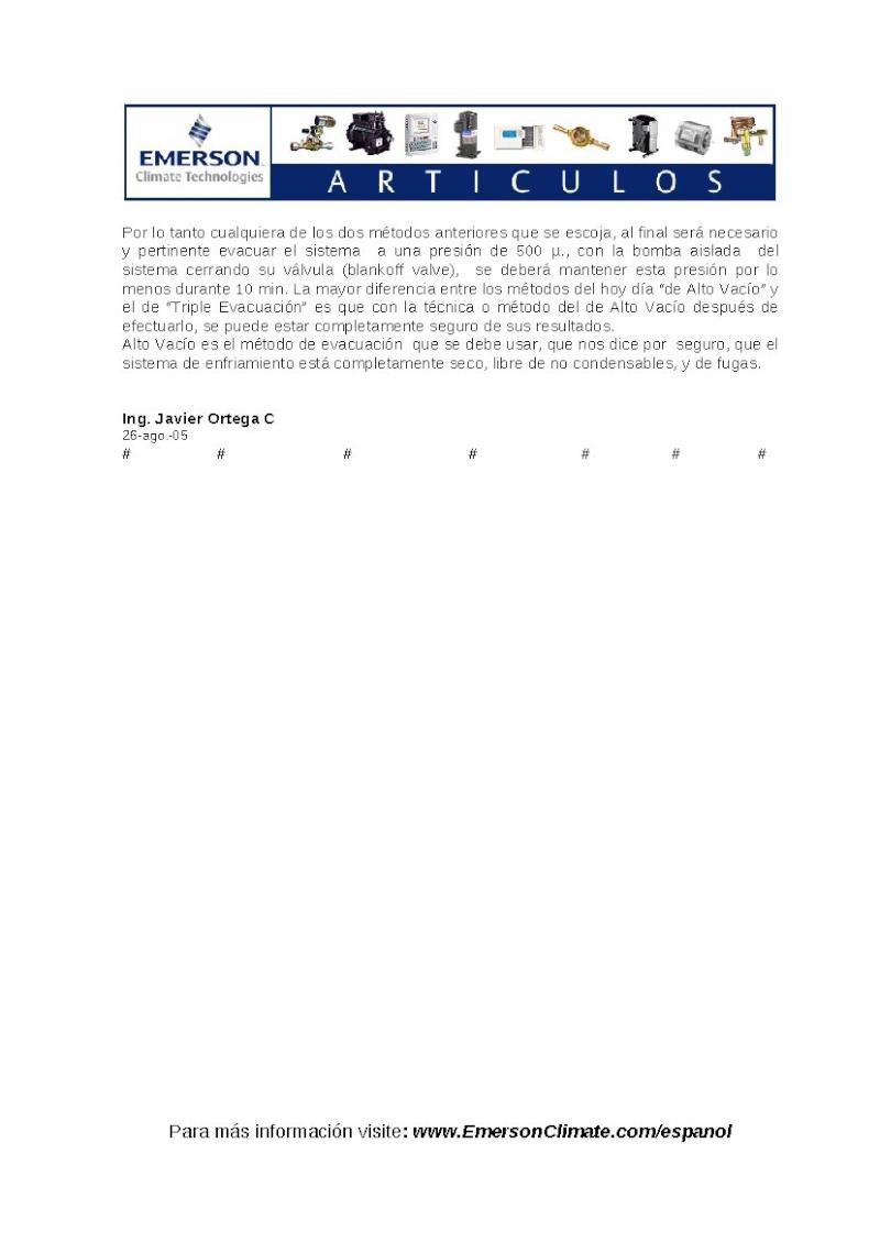 vacio en sistemas de refrigeracion y A/A Pag_910