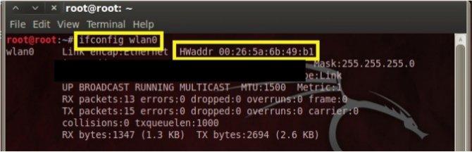Como Cambiar tu MAC-Address en Linux. Sin_ta18