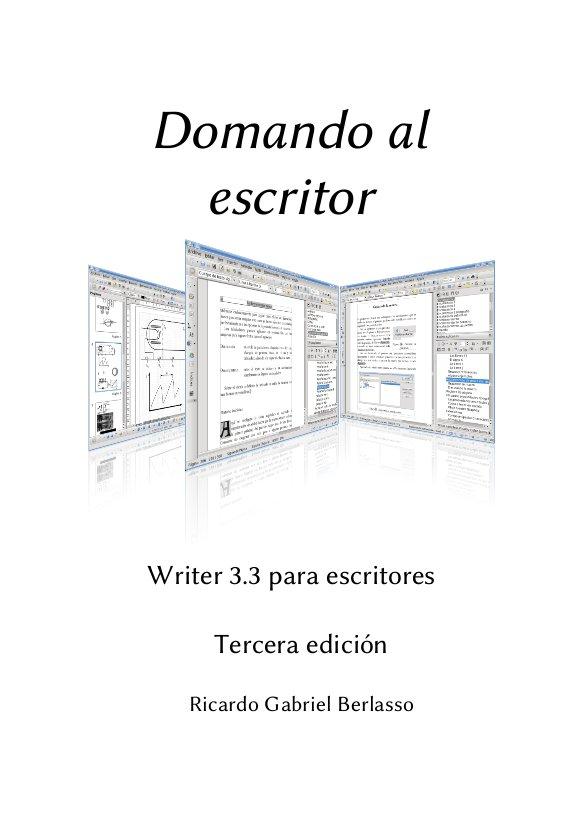 Procesador de textos,planilla de calculo etc (manuales en español) Writer10