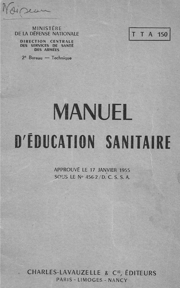 [Le service de santé] Manuel d'éducation sanitaire Couv10