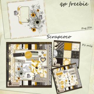 Une petite série de freebie sur mon blog Previe23