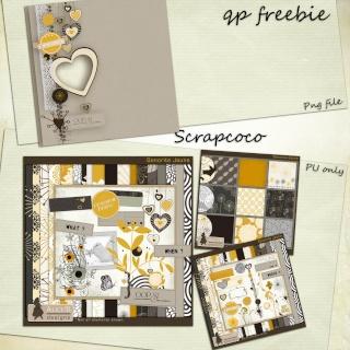Une petite série de freebie sur mon blog Previe24