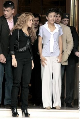 Shakira with Ingrid Betancout (pics) Normal39