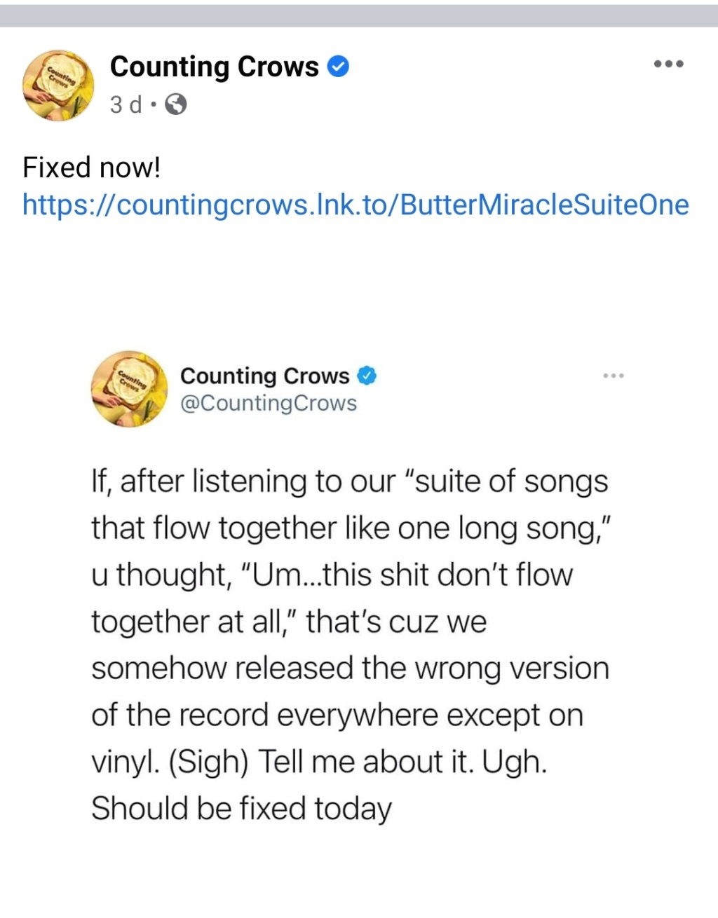 """Counting Crows:  """"Butter Miracle, Suite One""""  (2021) Img_2020"""