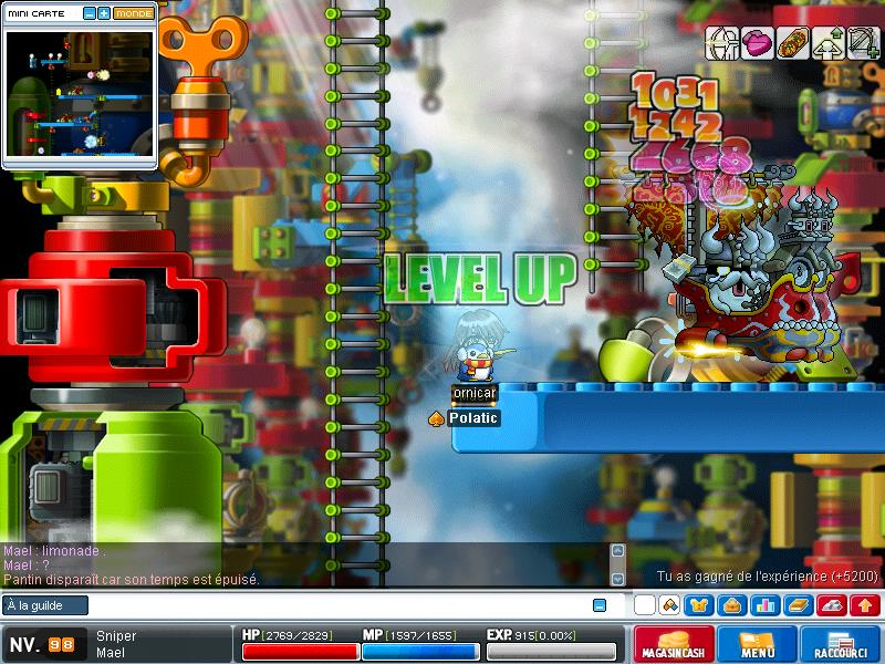 ScreenShot des lvl up - Page 2 Maple013