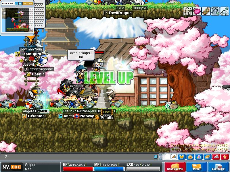 ScreenShot des lvl up - Page 3 Maple015