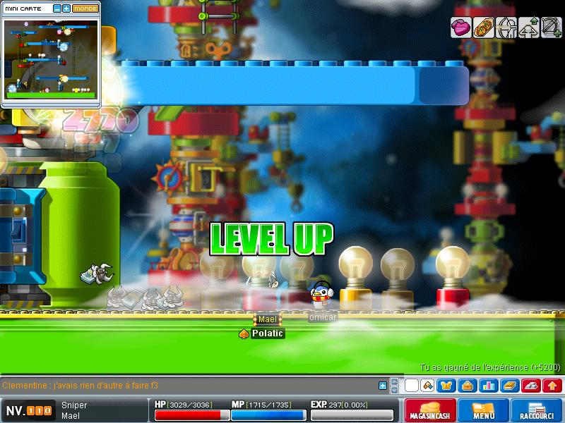 ScreenShot des lvl up - Page 6 Maple021