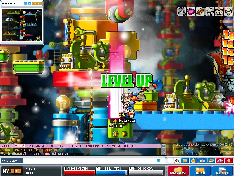 ScreenShot des lvl up - Page 6 Maple023