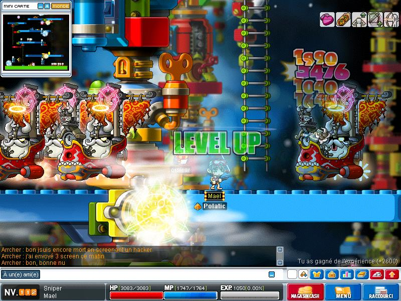 ScreenShot des lvl up - Page 6 Maple024
