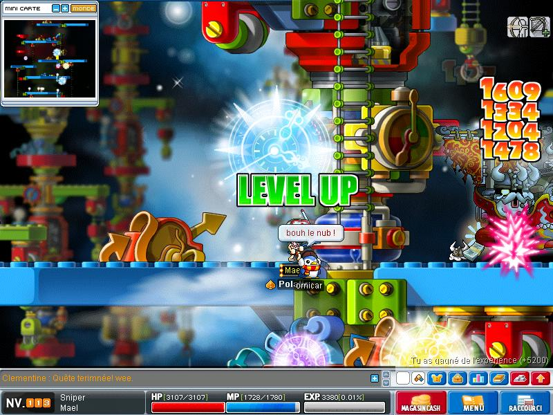 ScreenShot des lvl up - Page 6 Maple025