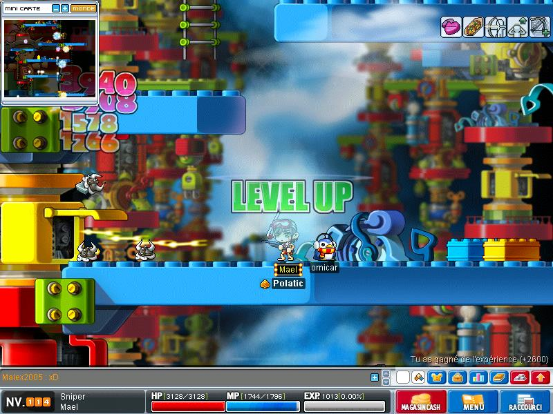 ScreenShot des lvl up - Page 6 Maple027