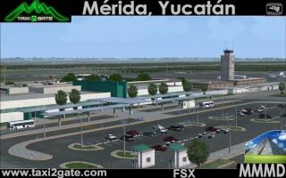 Taxi2Gate Mérida-Rejón Intl. Airport (MMMD) para o FSX 74450_10