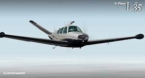 Carenado Bonanza V35 para X-Plane lançado Bonanz11