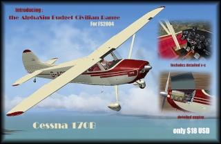ALPHASIM CESSNA 170B Cessna11